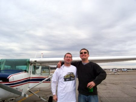 My Instructor and I after my flight